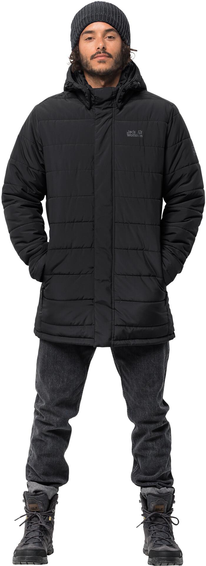 Jack Wolfskin Svalbard Coat Herren black